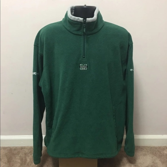 Columbia Other - Columbia Marshall Thundering Herd 1/4 Pullover XL